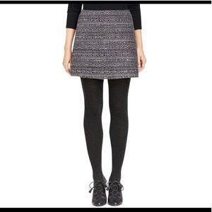 Tory Burch Skirts - Tory Burch Ada Skirt Metallic Tweed A-Line Gray